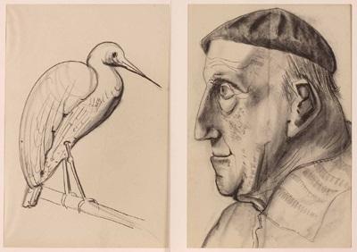 personen und tierdarstellungen 17 studies by matthias koeppel