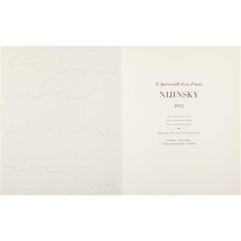 lapres midi dun faune nijinsky portfolio of w33 works folio by adolph de meyer