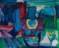 blue names by grace hartigan