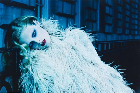 mayfair lady 5 by miles aldridge