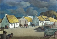 claddagh cottages by harry epworth allen