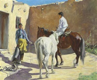 making ready by walter ufer