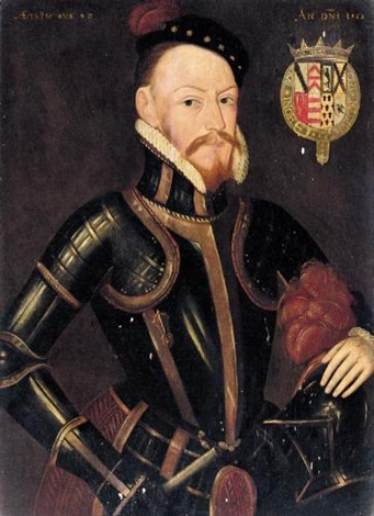 portrait of sir thomas radcliffe earl of sussex 1526 1583 by steven van der meulen
