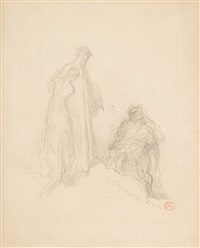 figural study by gustave doré