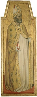 a bishop saint by francesco da volterra
