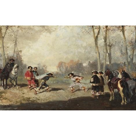 the duel by alexander ritter von bensa