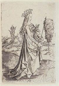 saint ursula by matthaus zasinger