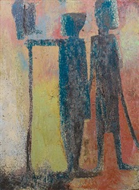 two figures by jimo akolo