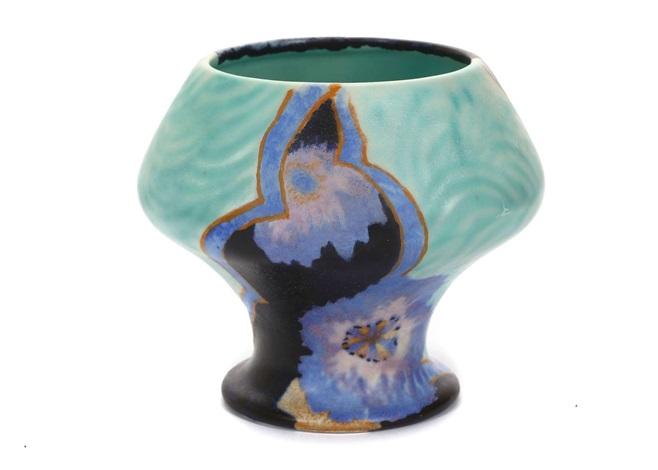 Bizarre 341 Shape Vase By Clarice Cliff On Artnet