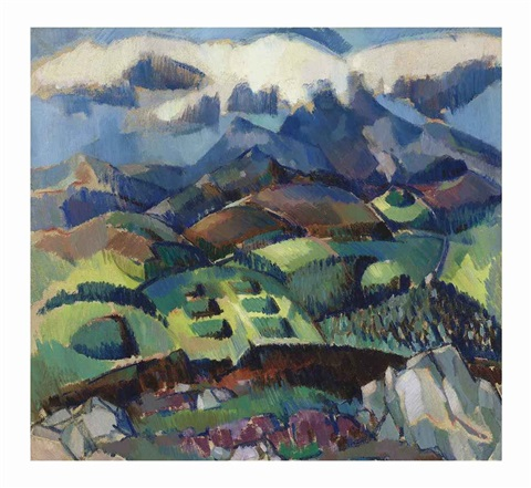 looking over killiecrankie by john duncan fergusson