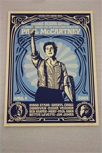 paul mcartney by shepard fairey
