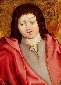 bildnis eines jungen heiligen by bernhard strigel