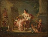 allégorie de la peinture by etienne aubry