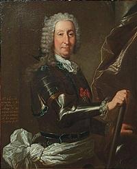portrait du marquis d'anjony de foie by rigaud