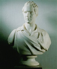 bust of martin tupper by william behnes