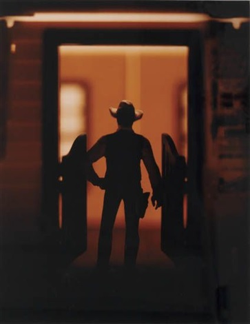 untitled from the wild west series by david levinthal