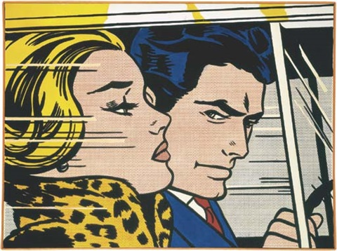 in the car by roy lichtenstein on artnet. Black Bedroom Furniture Sets. Home Design Ideas