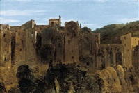 pitigliano, tuscany by sir charles lock eastlake