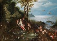 allegorie des wassers by jan brueghel the younger and jan van balen