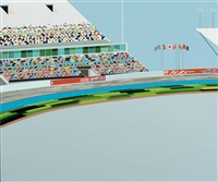 untitled - racetrack by brian alfred