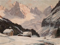winter in vals valley by erwin kettemann
