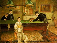 the billiard room by albert william holden