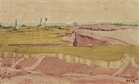 untitled (landscape) by nandalal bose