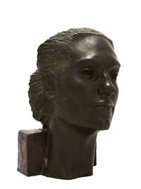 bust of a woman by akop gurdjan