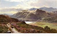 highland landscape by sidney richard percy