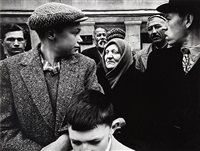 may day parade, gorki street, moskow by william klein
