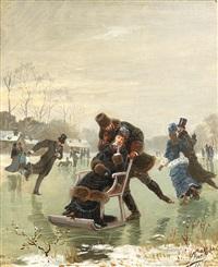 patinage by léon joseph voirin
