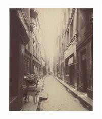 rue brantôme, 1923 by eugène atget