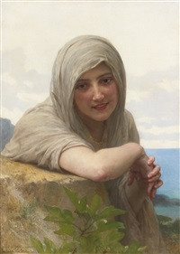 souvenir by william adolphe bouguereau