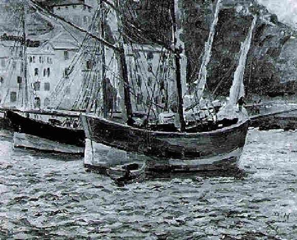 segelboote by dora horn zippelius