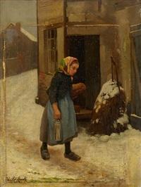 la jeune fille dans la neige by camille léopold cabaillot lassale