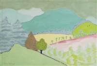 spring in vermont by milton avery