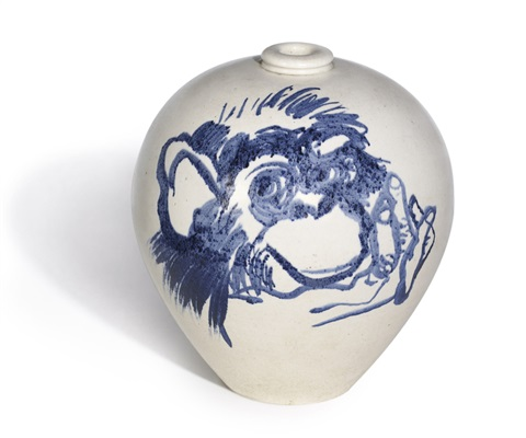 vase by brett whiteley