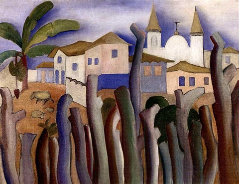 lagoa santa by tarsila do amaral