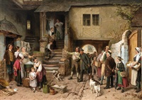 The return, 1884