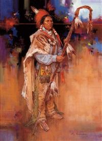 pa-bon/kiowa medicine lance by roy andersen