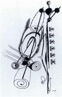 sans titre, 1920 by johannes theodor baargeld