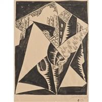 sans titre (ville cubiste) (1924) by léopold survage