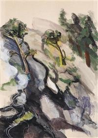 olivenbäume auf peyesác by petar dobrovic