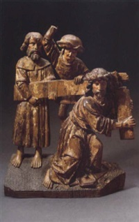 christ carrying the cross by flemish school-brabant (16)