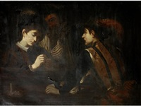 the card sharps by michelangelo merisi da caravaggio
