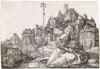 st. anthony reading (from pvpila avgvsta) by albrecht dürer
