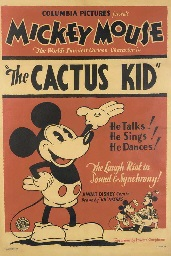 the cactus kid by walt disney