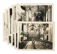 vistas interiores de iglesias y edificios by guillermo kahlo