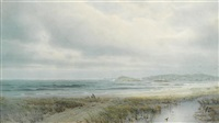 calm shoreline by william trost richards
