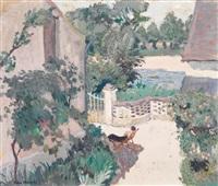 le repos au jardin by willem van hasselt
